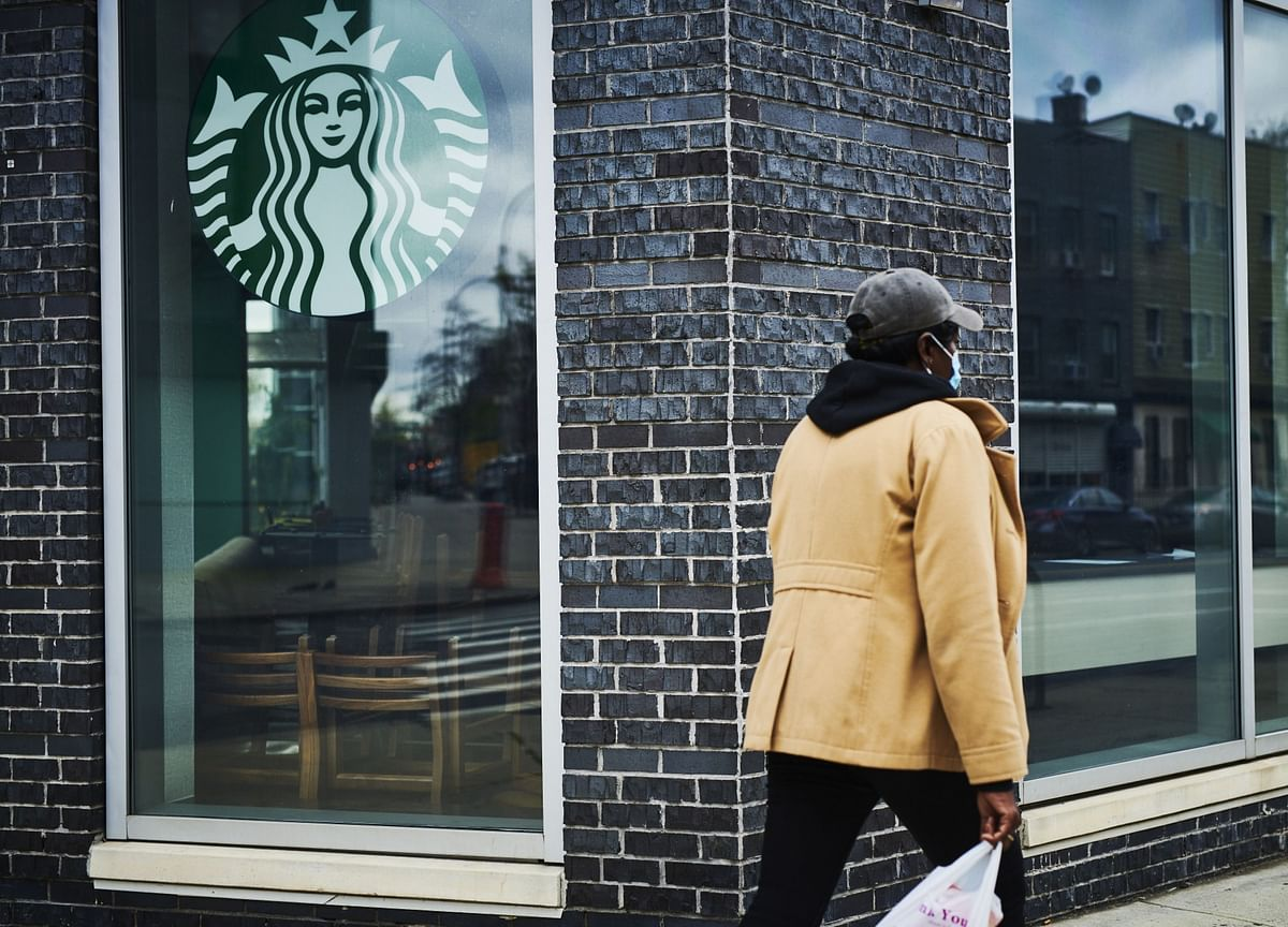 Starbucks CEO Sees 'Stir-Crazy' Consumers Going Out, Eventually