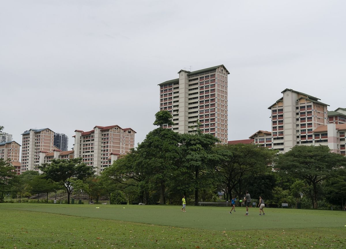 Singapore Home Prices Fall With Property Market at Standstill