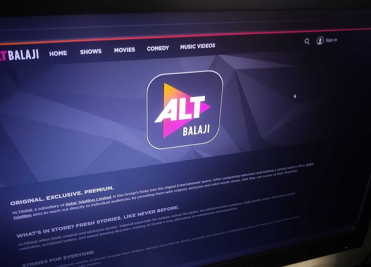 ALT Balaji Says Its Subscriber Base Is Rising 70-80% Daily During Lockdown