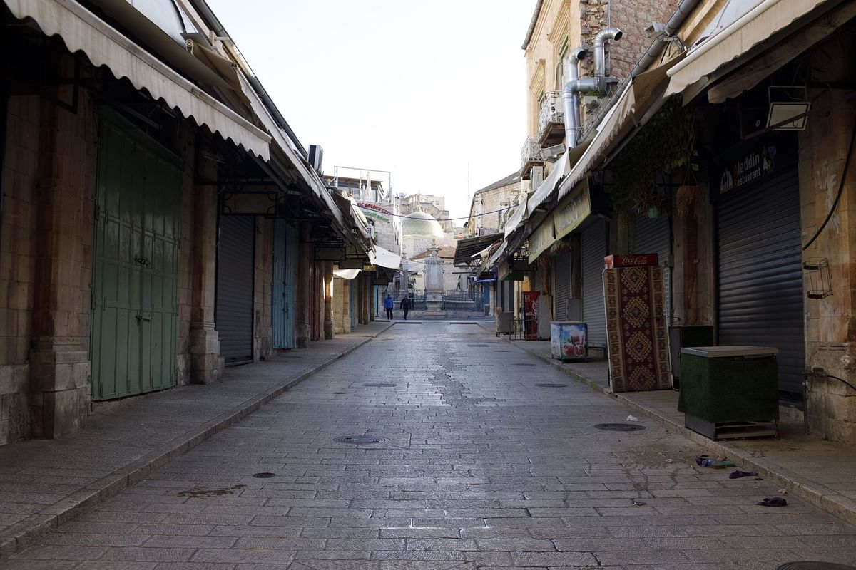 The Old City on March 29. (Photographer: Kobi Wolf/Bloomberg)