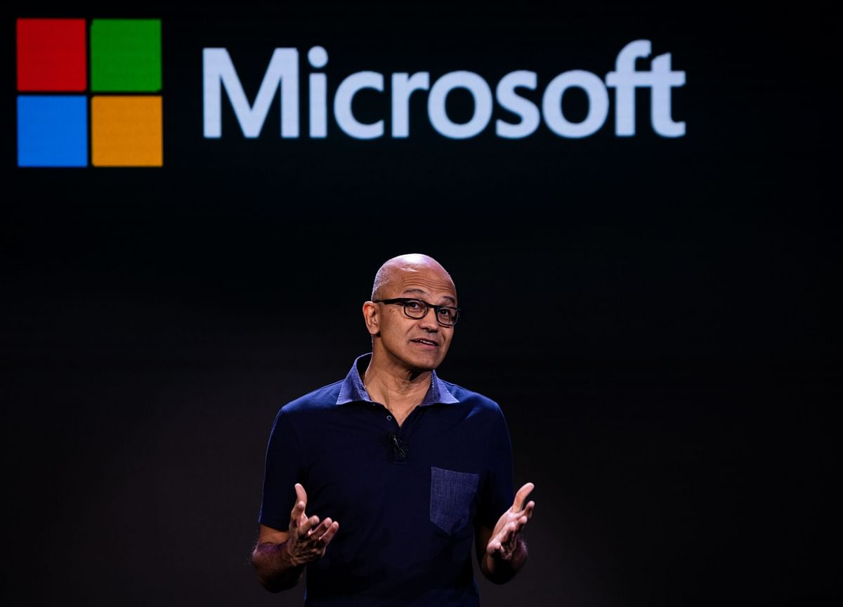 Microsoft Sales Rise as Remote Working Buoys Cloud Services