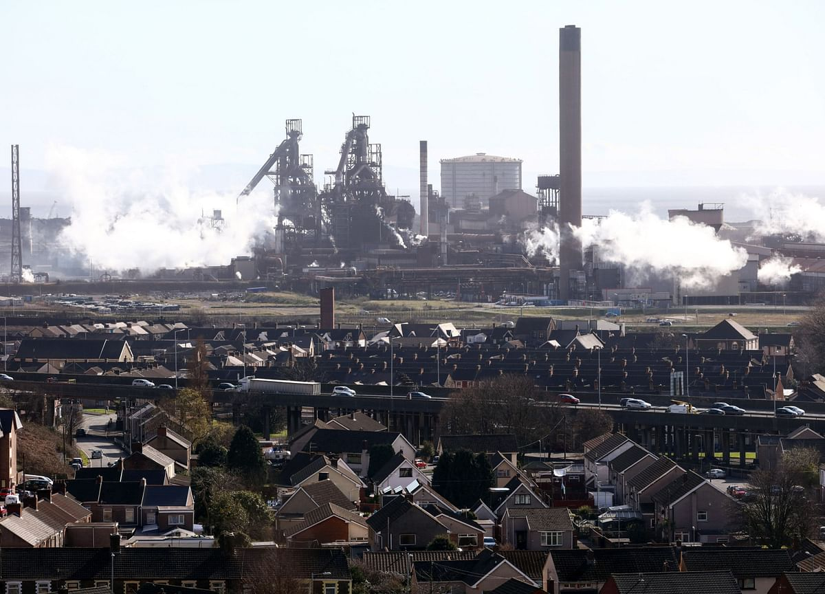 Tata Steel U.K. Said To Seek £500 Million Bailout To Survive Coronavirus Lockdown