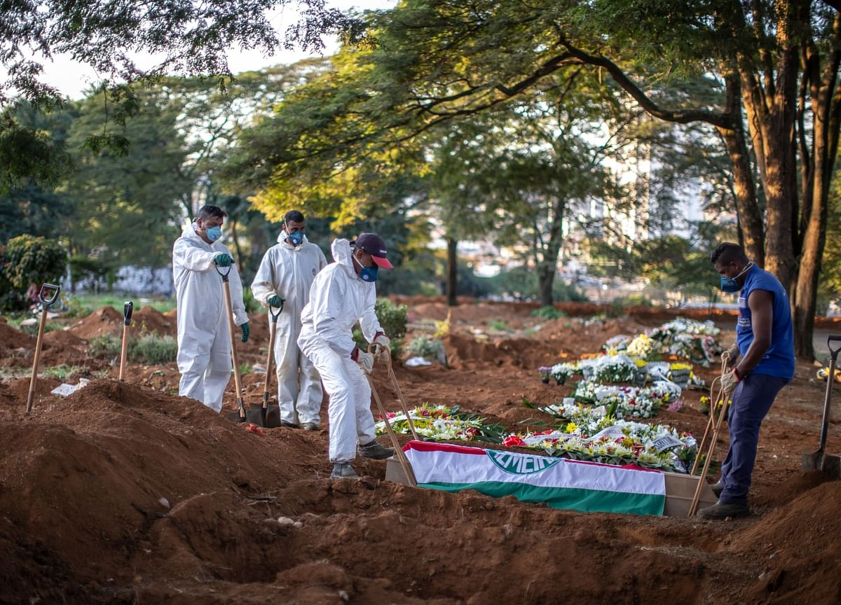 With More Daily Deaths Than U.K., Brazil Is New Virus Hotspot