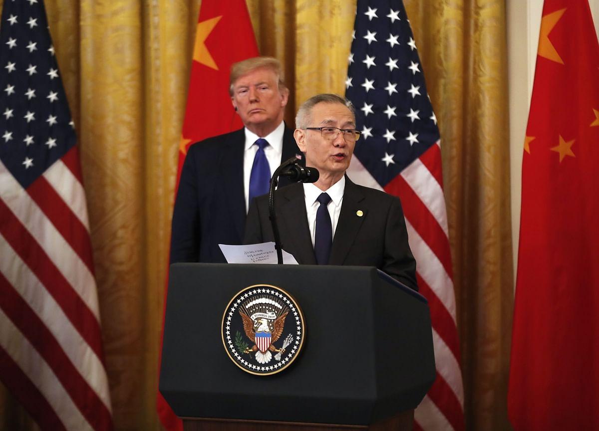U.S., China Trade Chiefs to Speak as Trump Threatens Deal