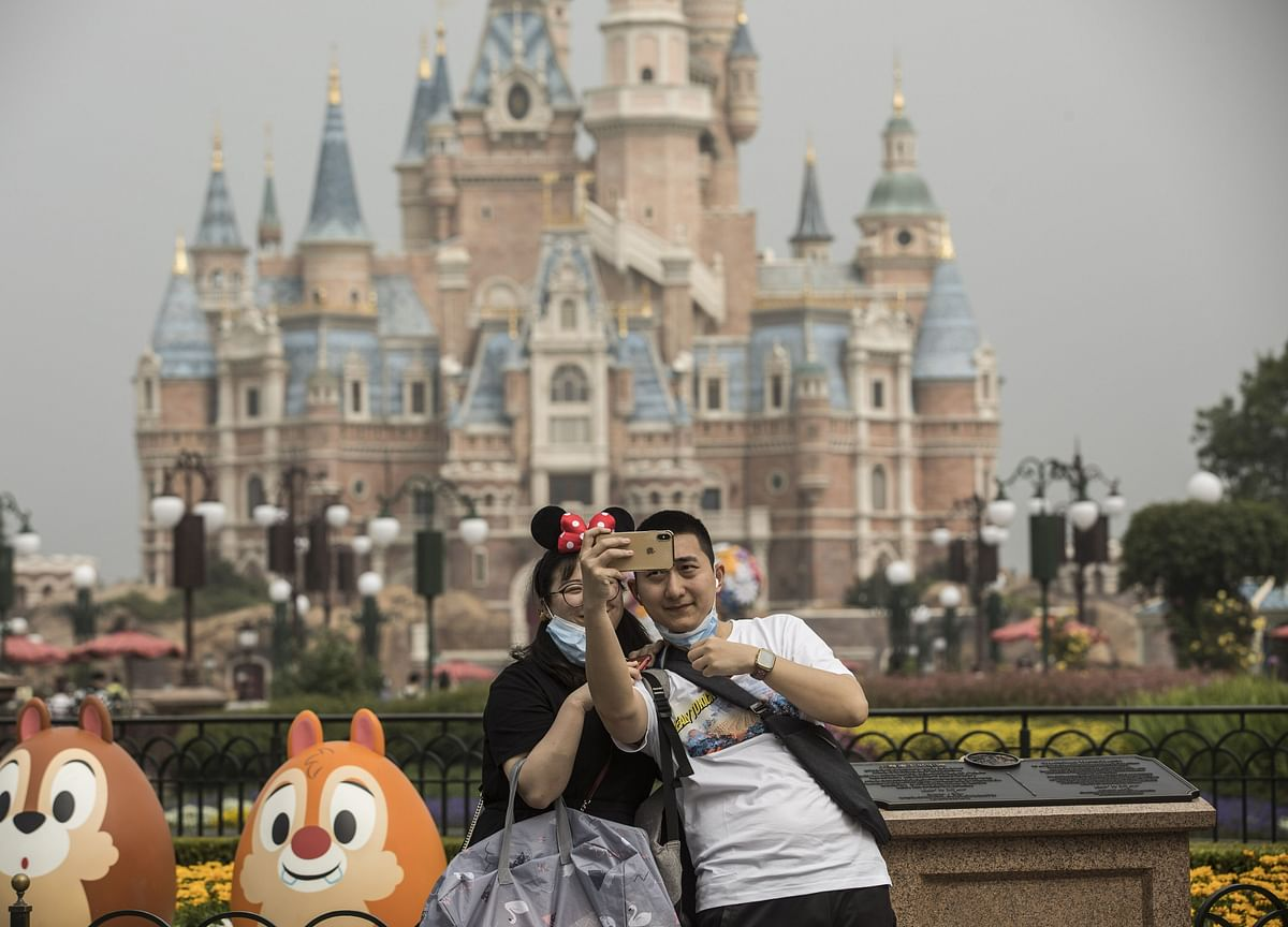 Disneyland Shanghai Reopens to New World of Masks, Distance