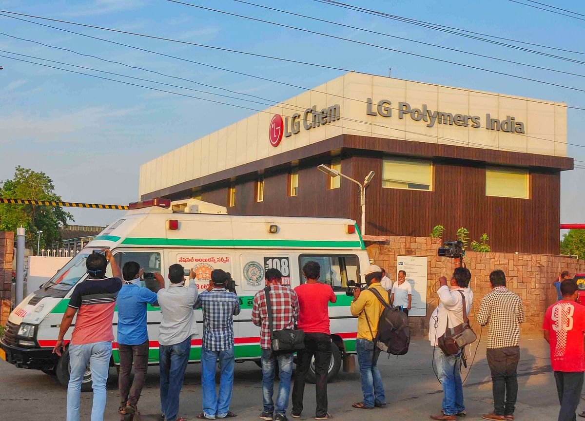 Vizag Gas Leak: LG Polymers CEO, 11 Others Held