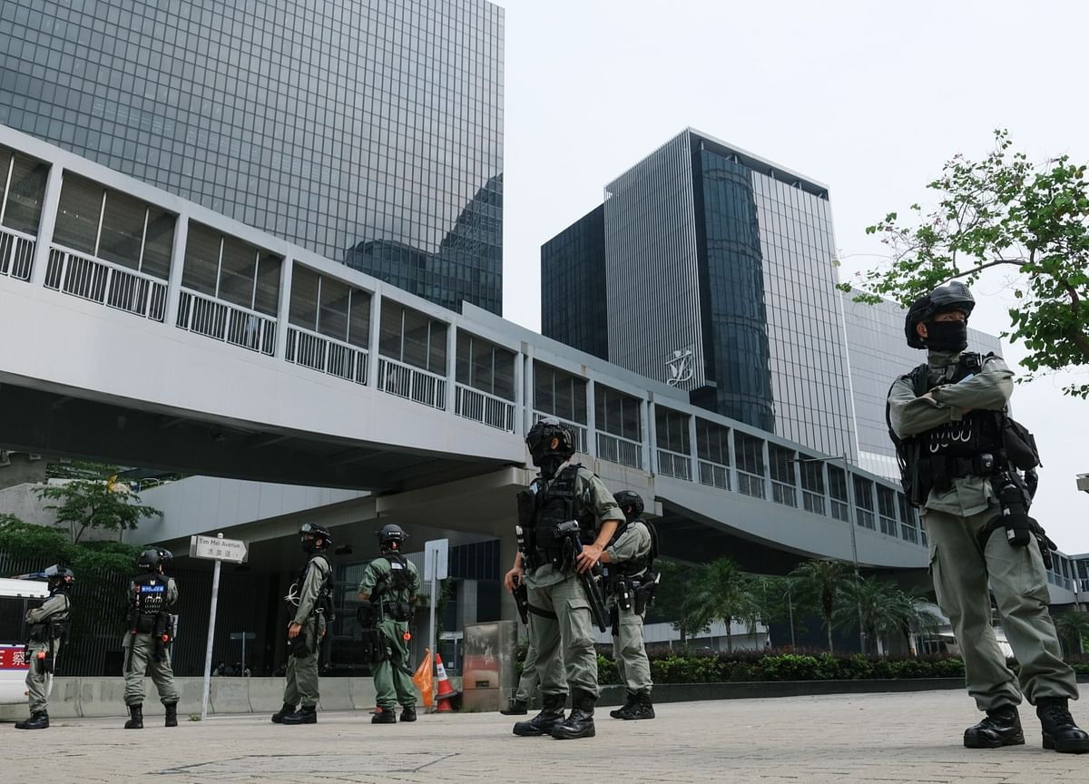 Hong Kong Braces for Downtown Protests on China-Backed Laws