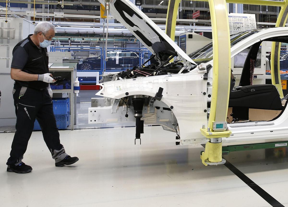German Factory Orders Slump With Virus Shutdown Freezing Economy