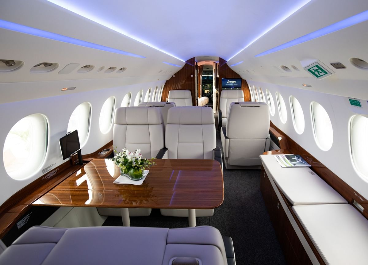 Gates and World's Rich Win Big on Private-Jet Firm's 196% Surge