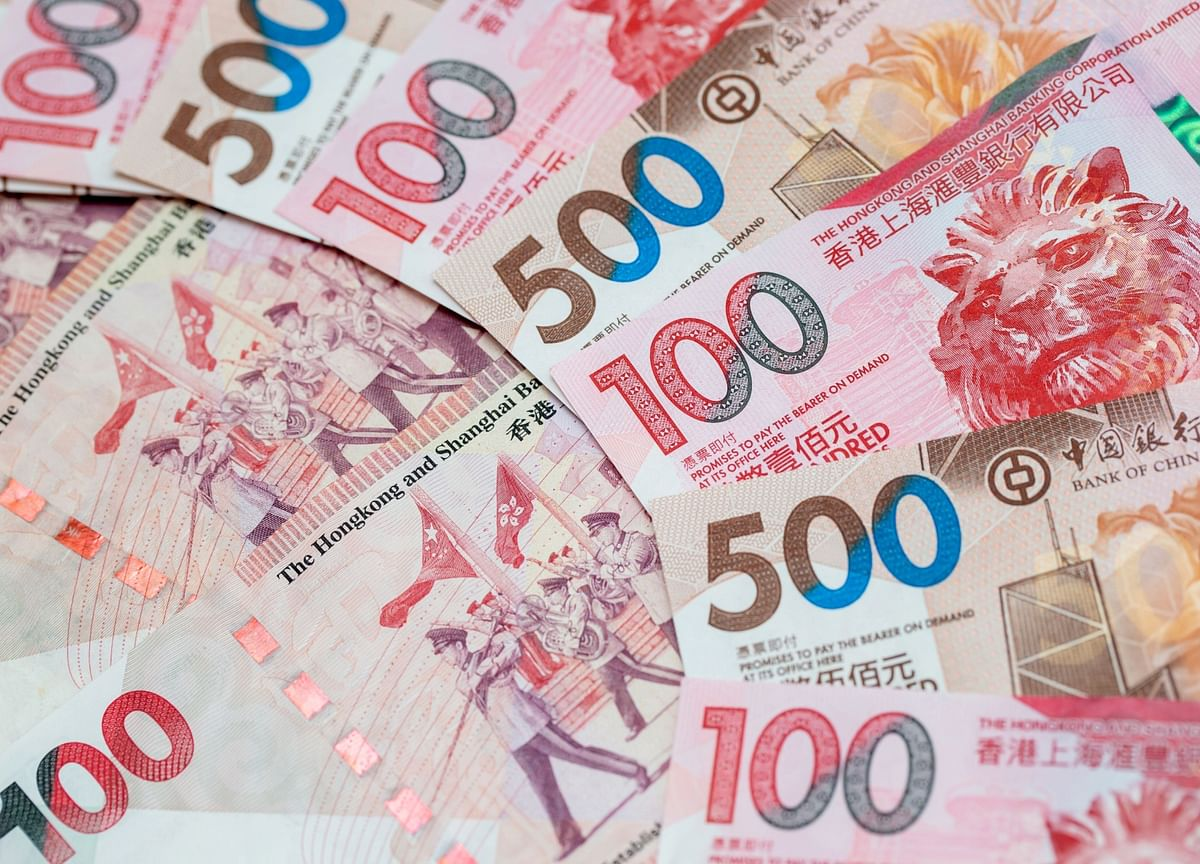 As Hong Kong Economy Sinks, Scant Liquidity Underpins Dollar