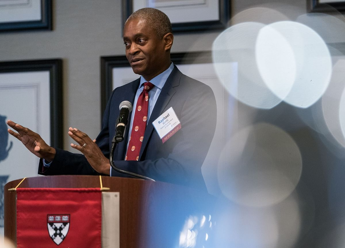 Fed's Bostic Sees Signs That Economic Activity Is Leveling Off