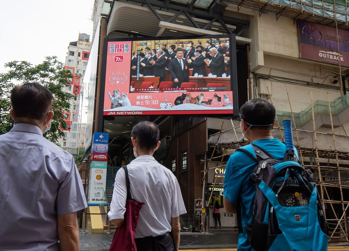 How China Pounced on Hong Kong While Covid Overwhelmed the World