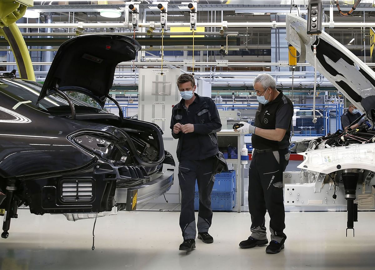 Europe's Industry Battered by Lockdowns Nations Aim to Lift