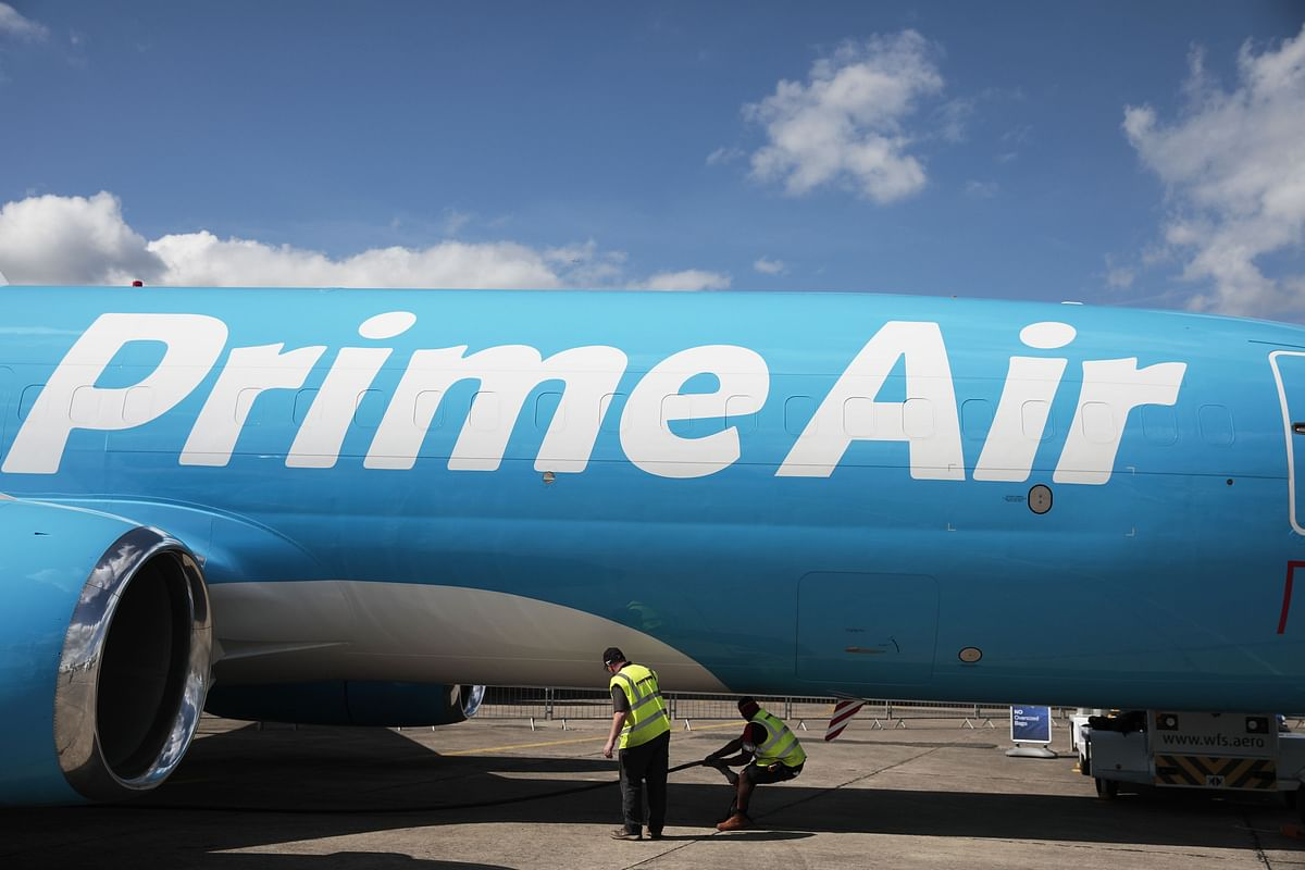 Amazon Prime Air Seen Surging Fivefold to 200 Jets, Rivaling UPS
