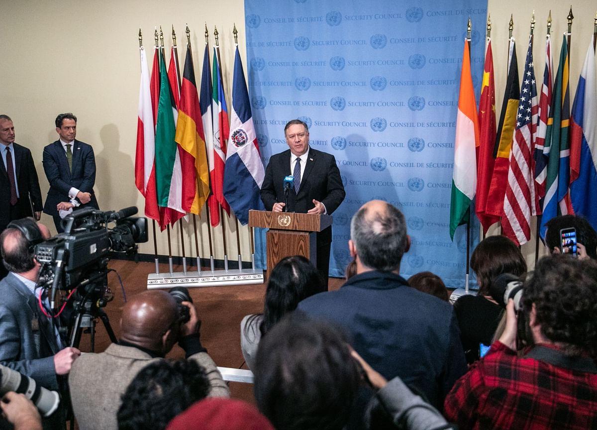 China Blocks U.S. Call For UN Security Council Hong Kong Meeting