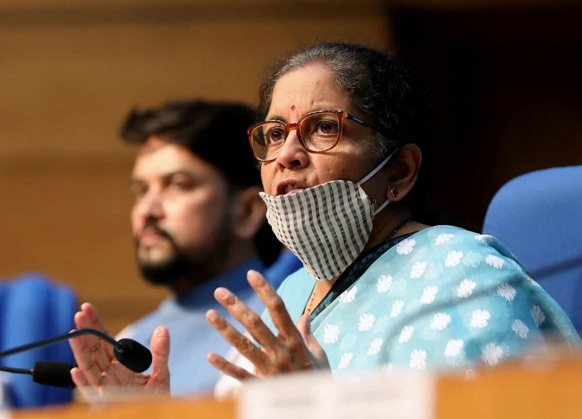 Nirmala Sitharaman Asks Private Lenders To Provide Liquidity Support To Small Businesses