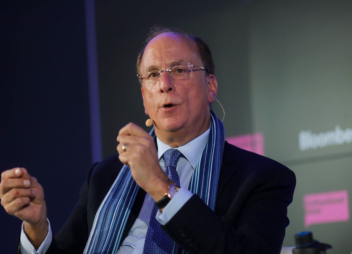 BlackRock's Fink Delivers Grim Outlook With Tax Hikes for Corporate America