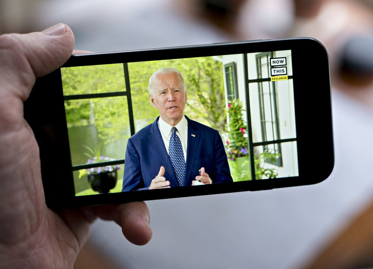 Biden Castigates Trump for Fanning 'Flames of Hate' in Protests