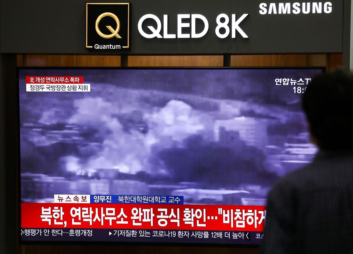 Kim Jong Un Destroys Joint Korea Office in Rebuke to Seoul