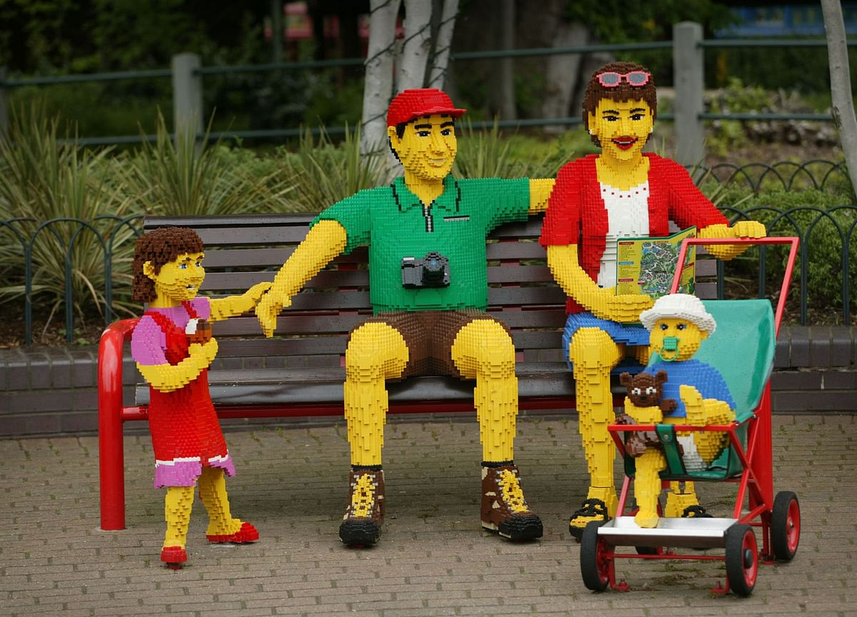 Legoland Reopens to Thin Crowds With Social Distancing in Place
