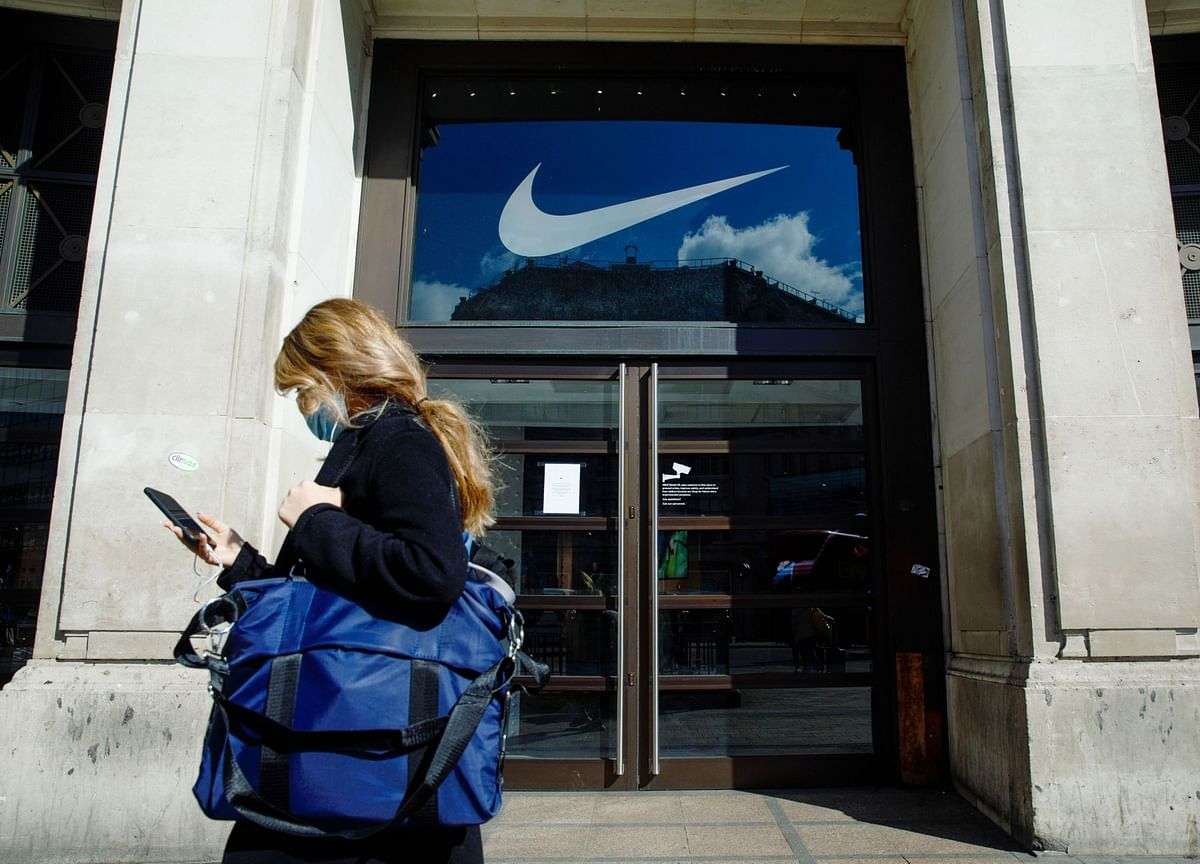 Nike Shares Tumble After Pandemic Batters Sales, Gross Margin