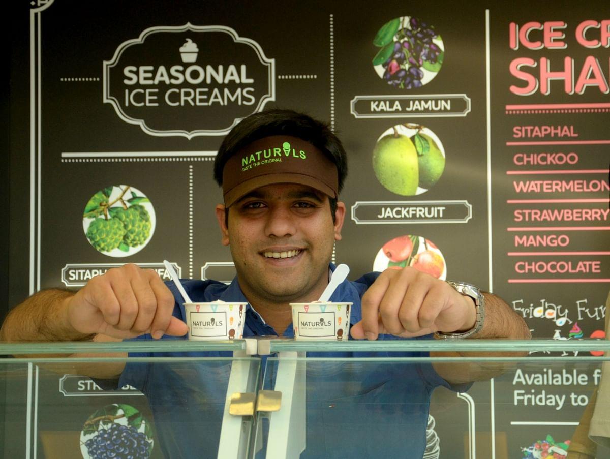 Srinivas Kamath, Director, Kamaths Ourtimes Ice Cream. (Image: Naturals)