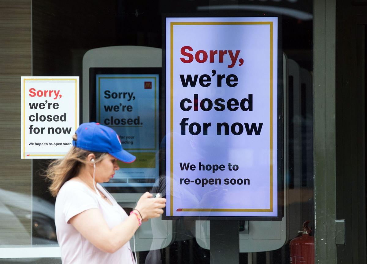 U.K. Consumers, Retailers Hit Hard by Coronavirus Lockdown
