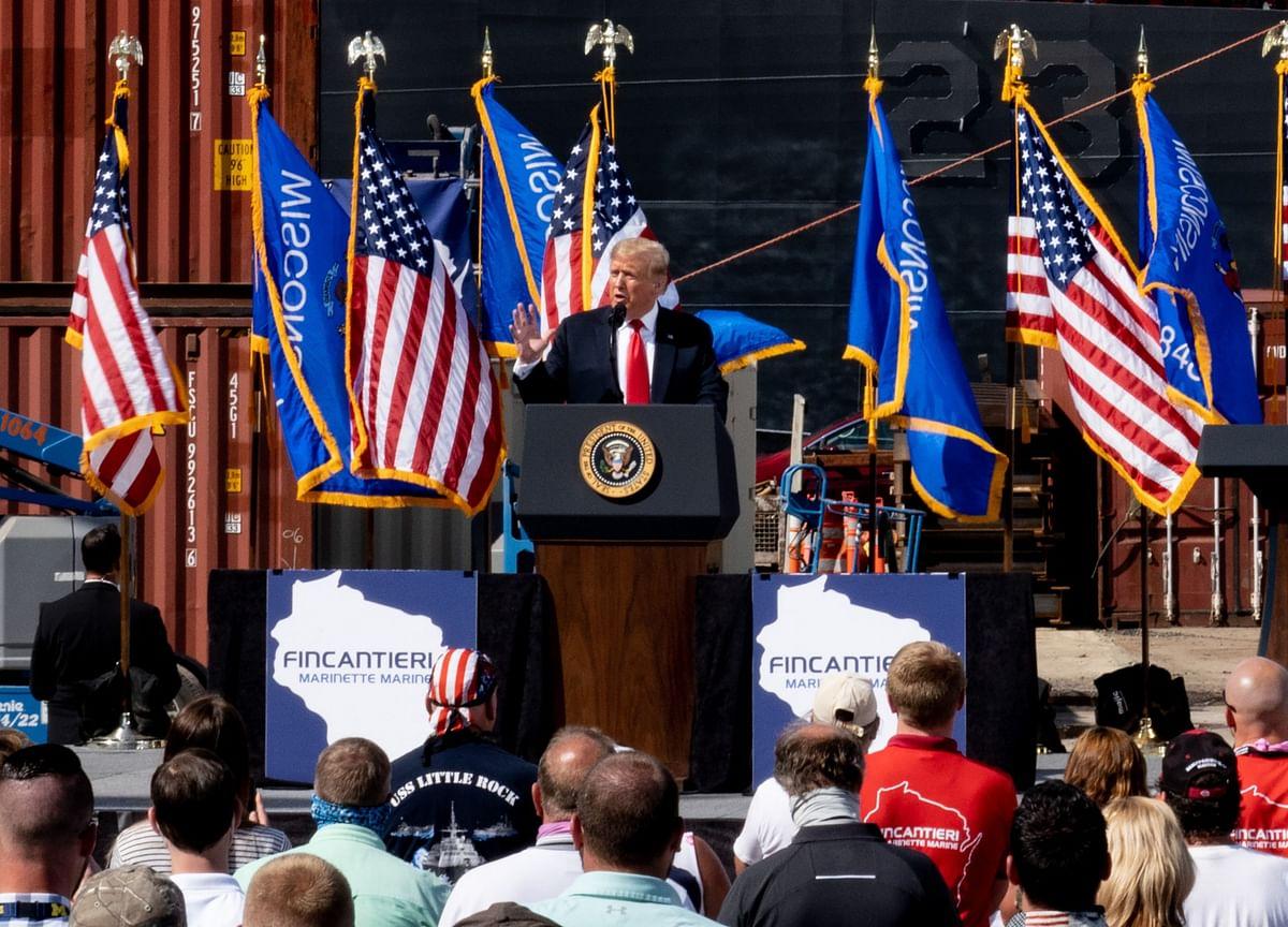 Trump's Tulsa Rally Drew People From Dozens of Virus Hot Spots in U.S.