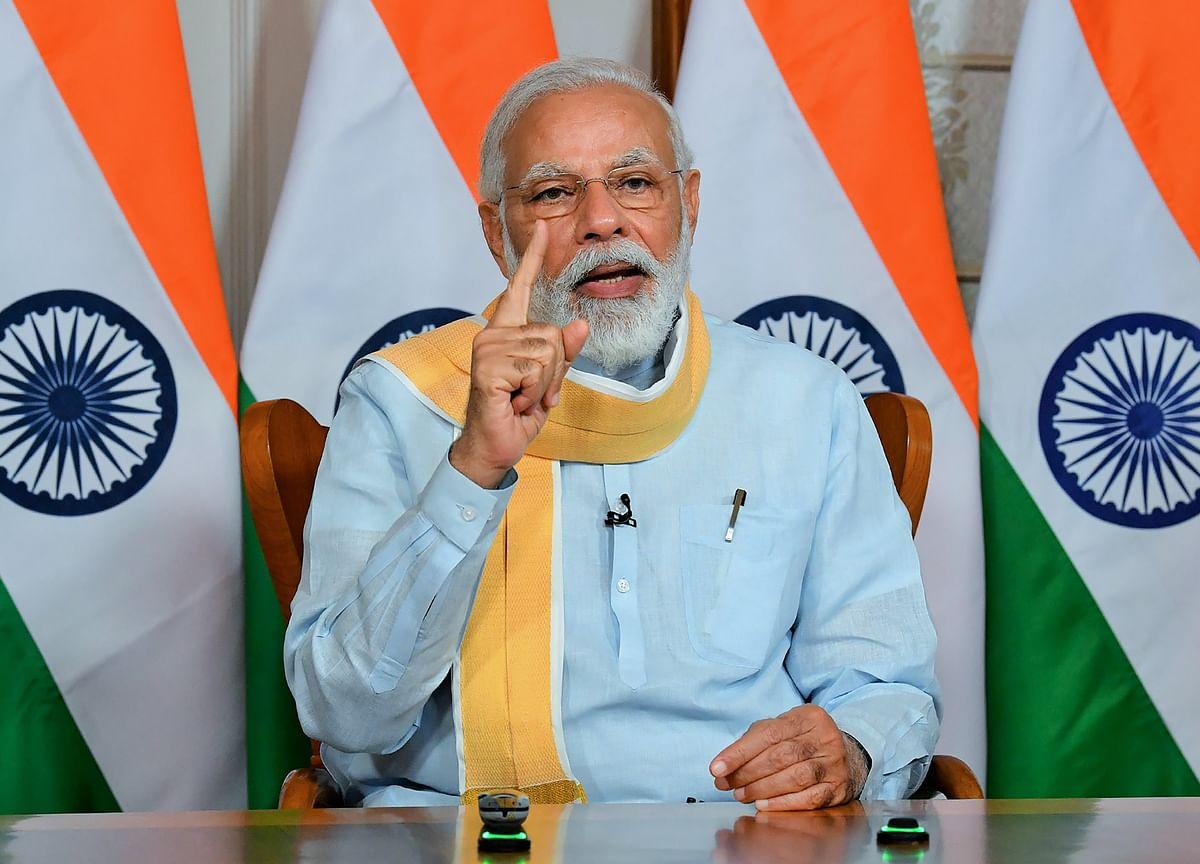 Modi Seeks Funding to Build Smarter Indian Cities Post Pandemic