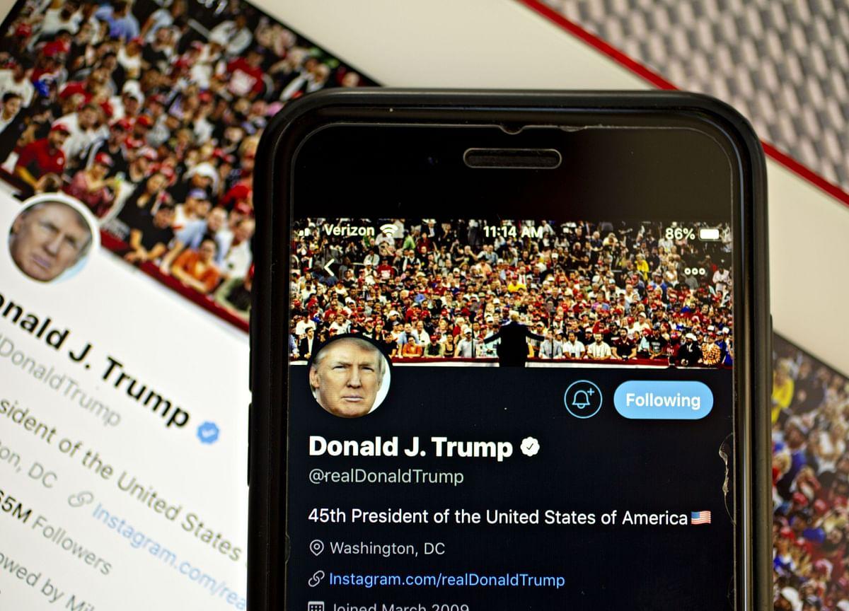 Twitter Hides Trump Tweet Threatening Potential Protesters