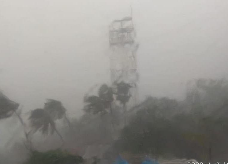 Watch Cyclone Nisarga Hit Maharashtra And Gujarat