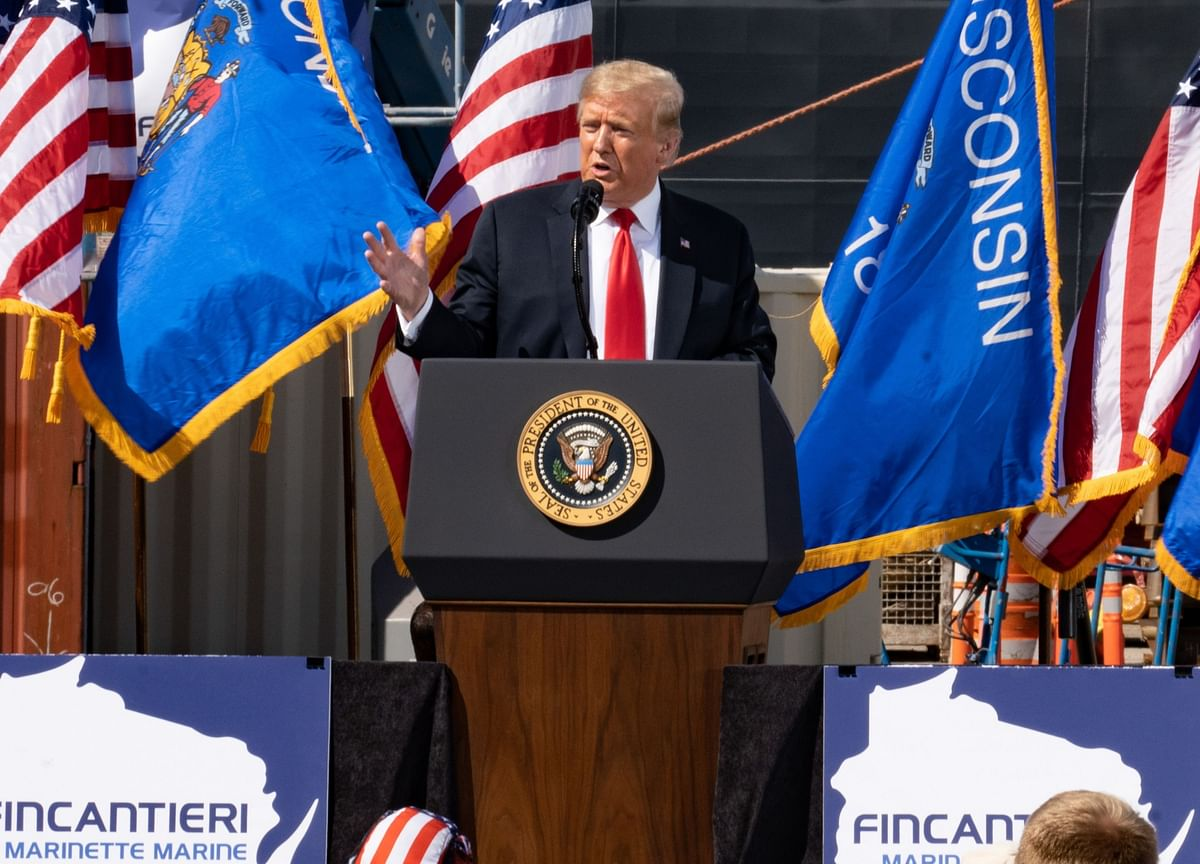 Trump Dismisses Virus, Polls and Recession to Tell Winning Story