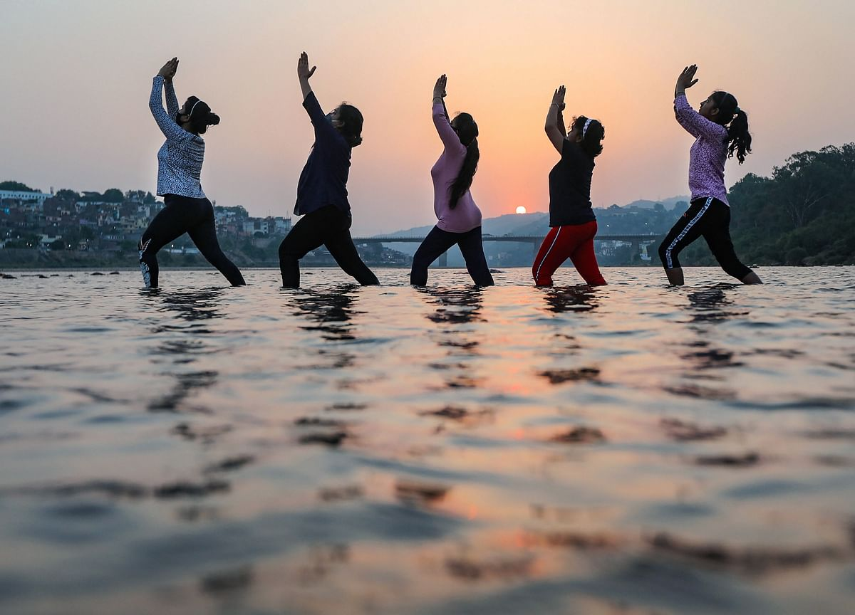 International Yoga Day: PM Modi Says Yoga Is Helping Covid-19 Patients Defeat Disease