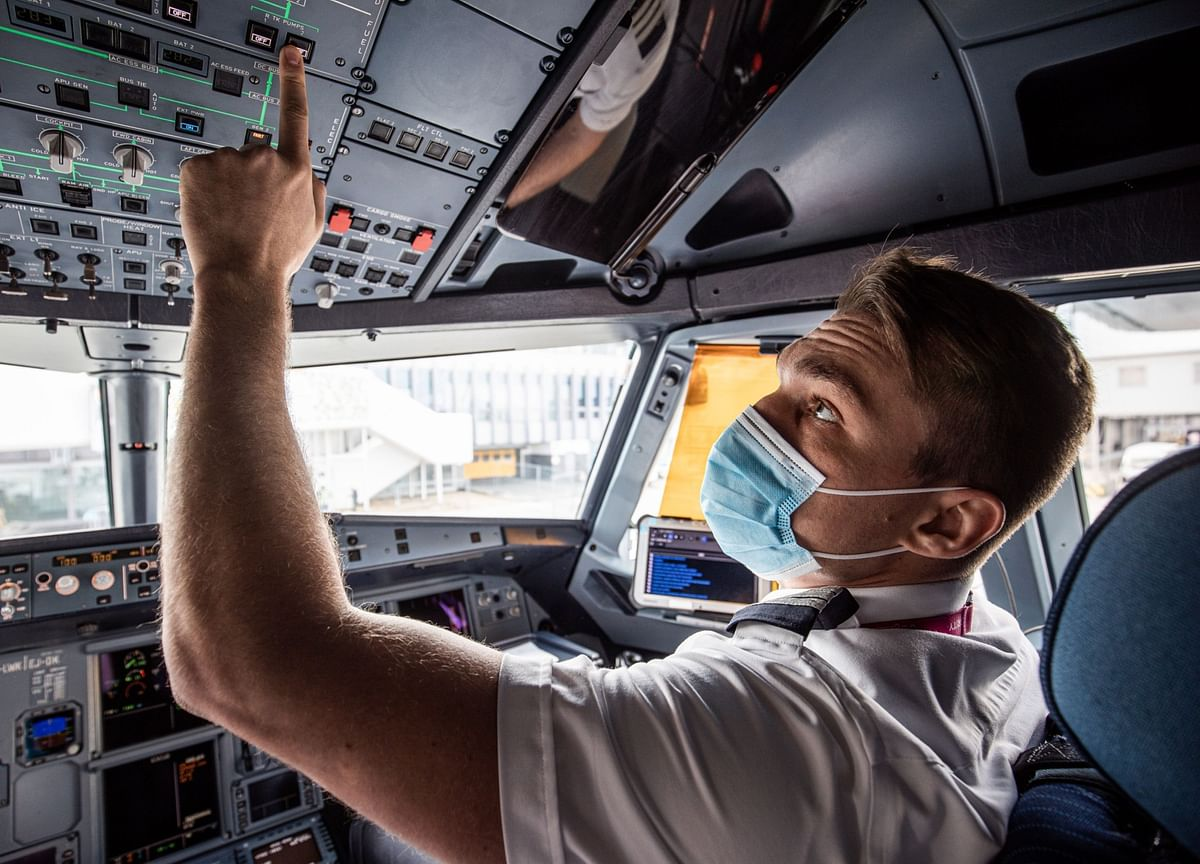 What Pilots Do When a Pandemic Grounds Half the World's Planes