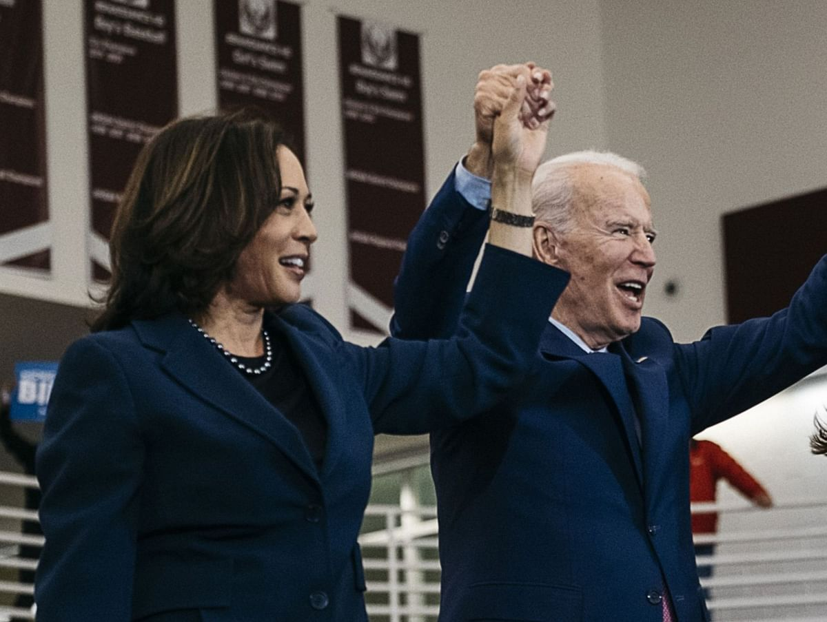 Biden Fundraiser With Kamala Harris Nets $3.5 Million