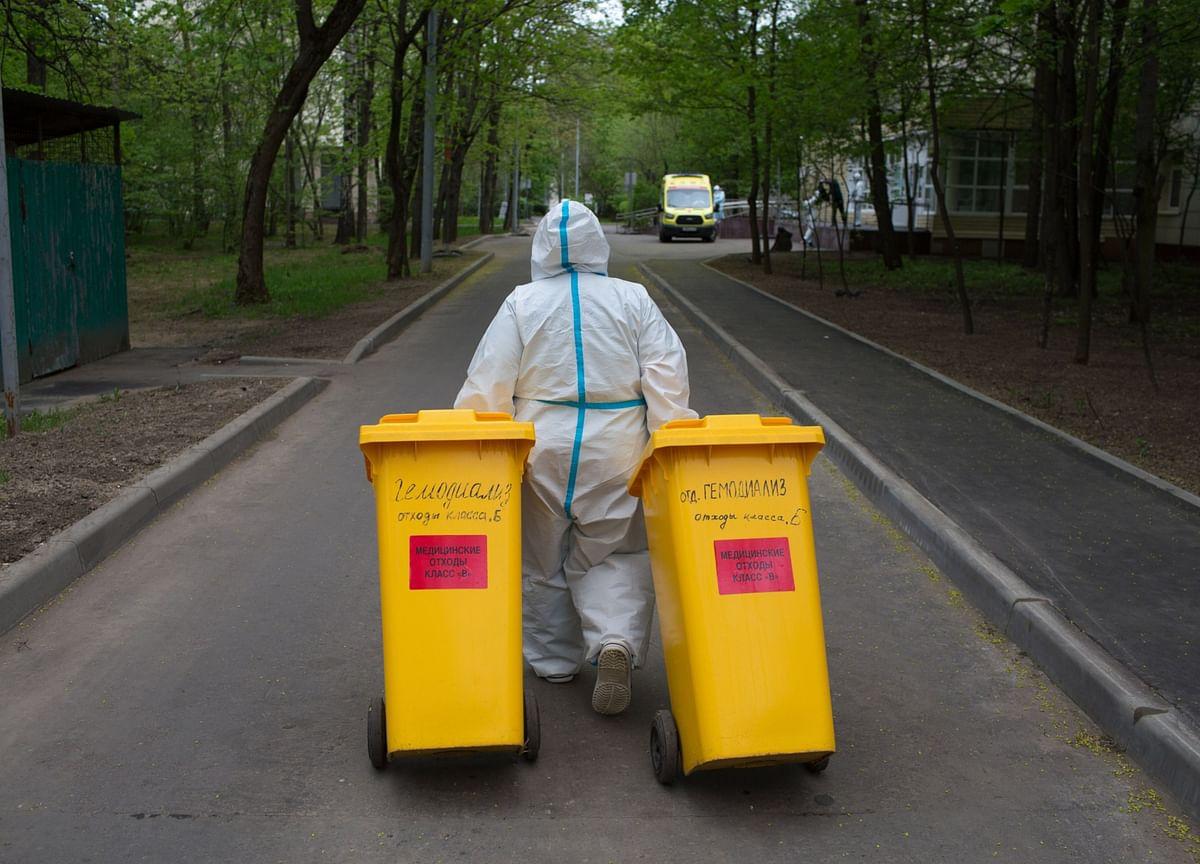 Epidemic of Contaminated Waste Is Following the Coronavirus