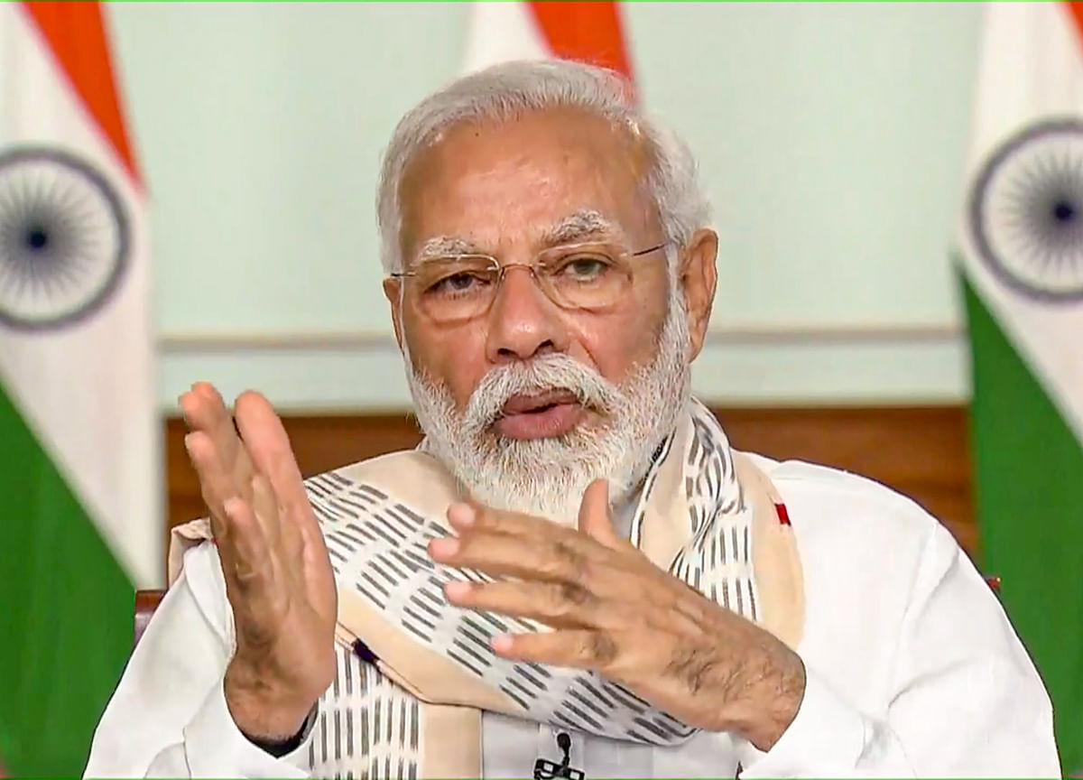 PM Modi Holds Meeting With Chief Ministers, Says Economy Showing Green Shoots