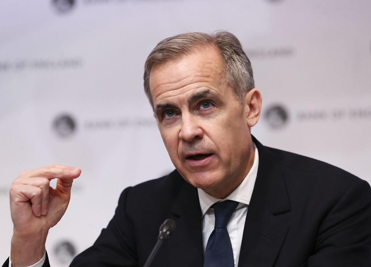 Back in Canada From BOE, Carney Plans Book on Inclusive Society
