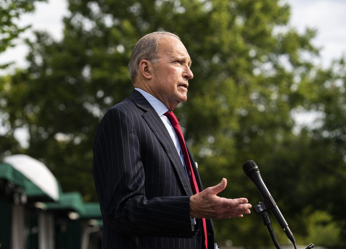 Kudlow Says U.S. Economy Won't Shut Down Despite Surge in Virus