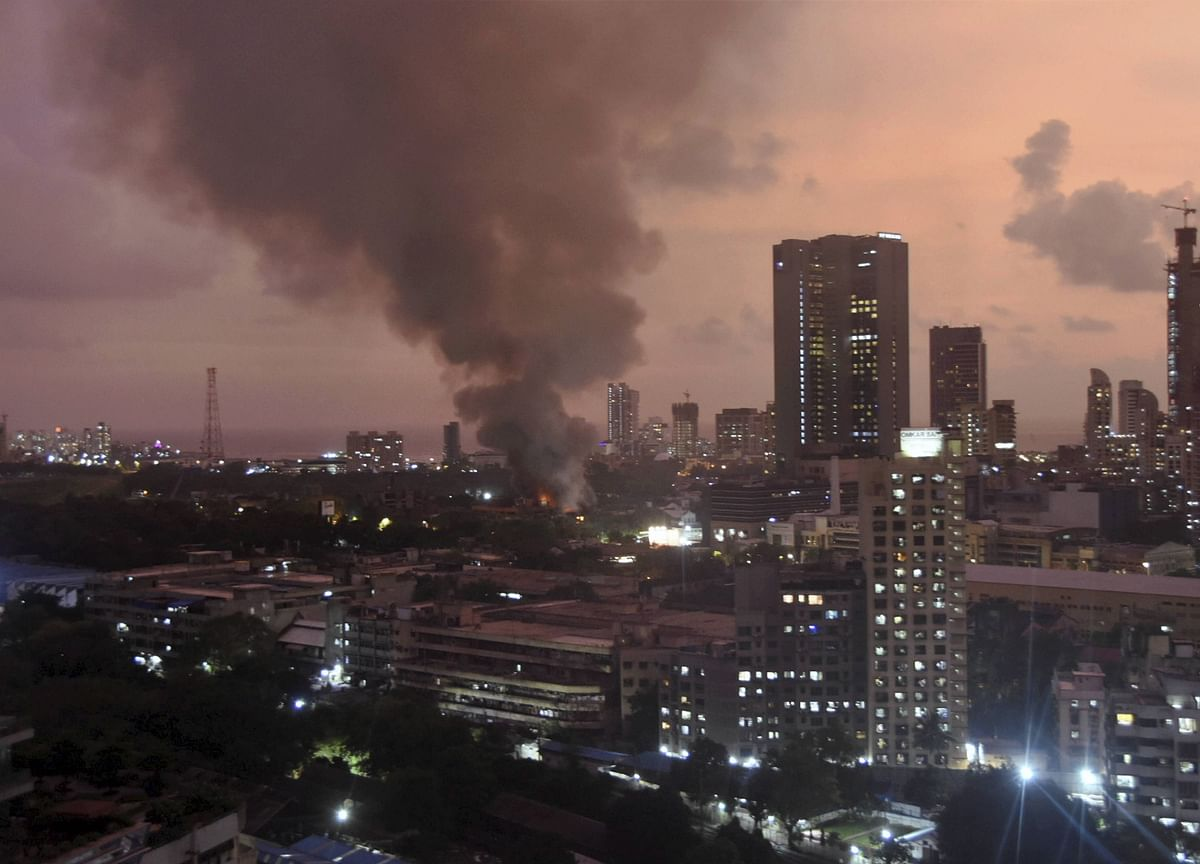 Fires At Three Commercial Premises In Mumbai