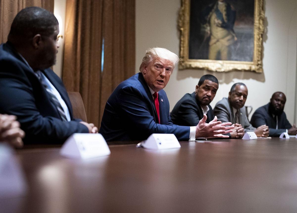 Trump Touts Economy as Racial-Justice Fix, Snubs Police Overhaul