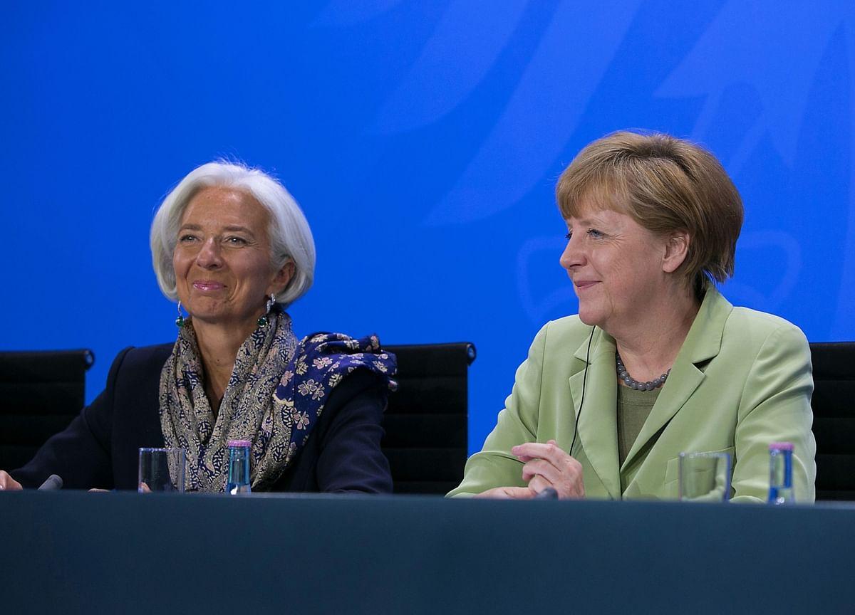 Lagarde-Merkel Double Act Unites Europe in Stimulus Zeal
