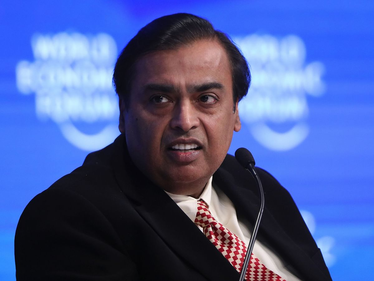 Mukesh Ambani Nears Deal With Top Mideast Sovereign Funds