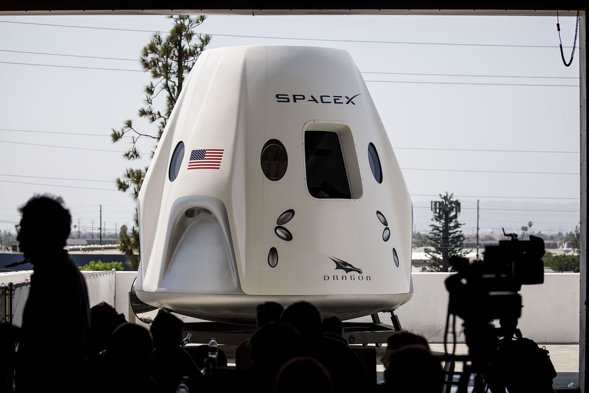 First Manned Flight Is Just One Step for SpaceX