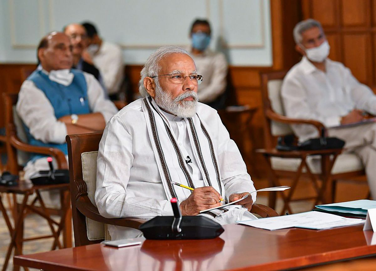 PM Modi Holds Meeting With Heads Of Banks, NBFCs
