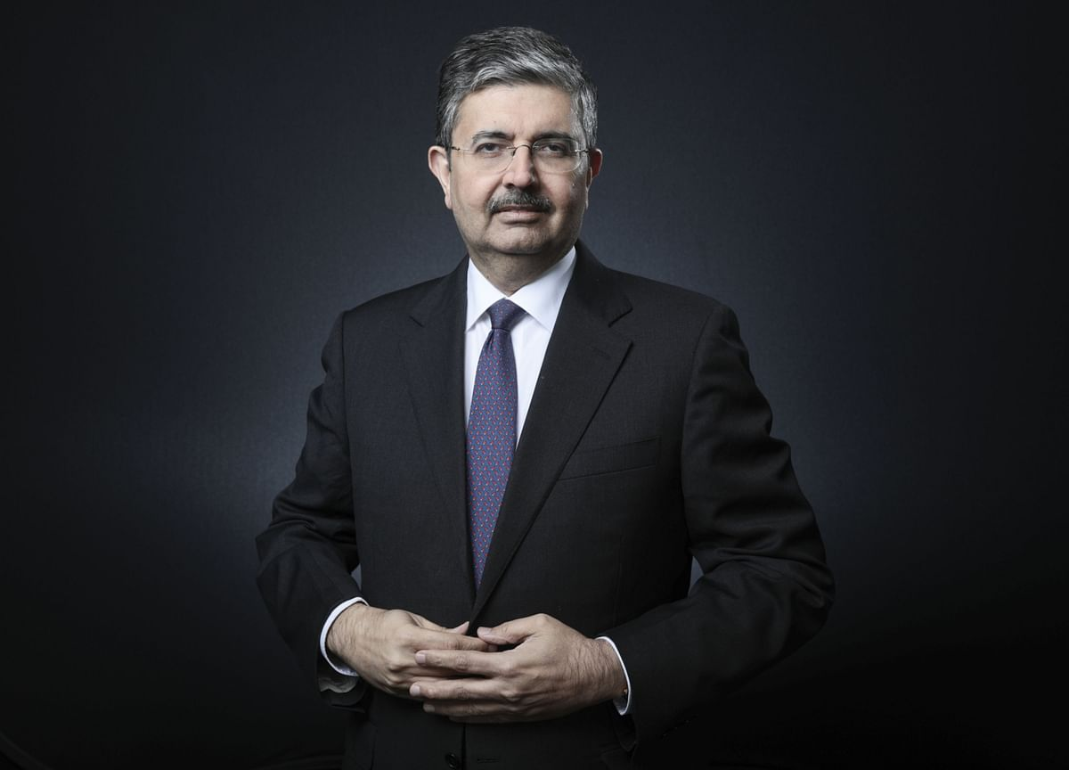 Uday Kotak Says Raise Capital From Markets, Don't Fuss Over Nickels And Dimes