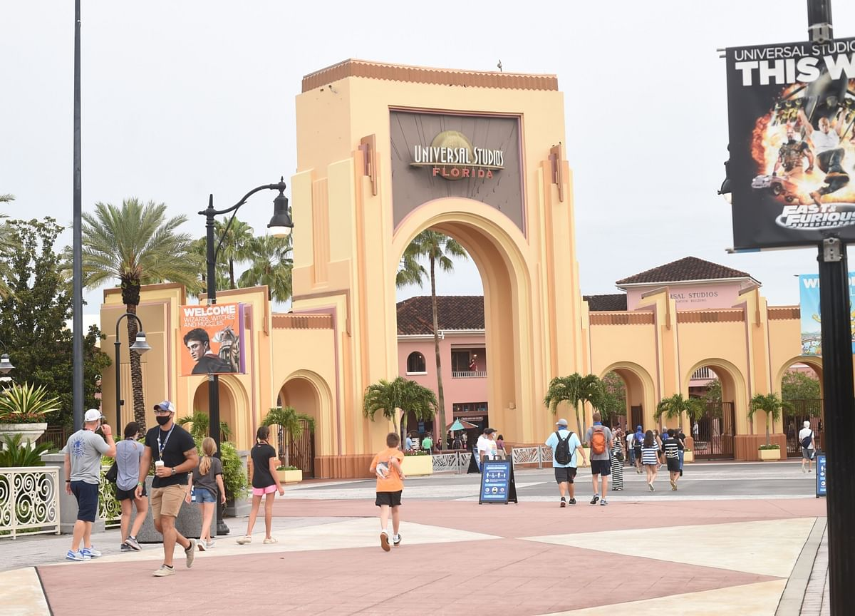 Universal Studios' Crowds Look Severely Thin After Reopening