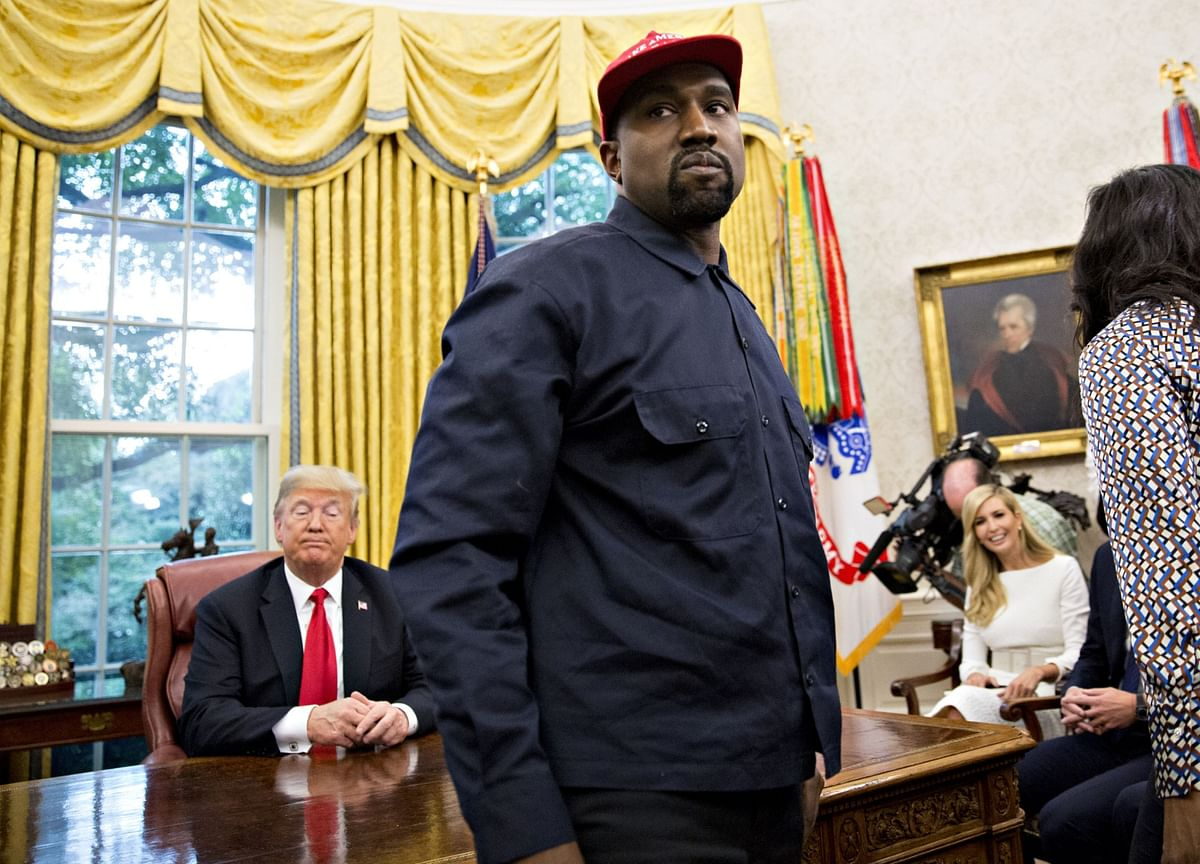 Rapper Kanye West Says He No Longer Supports Trump: Report