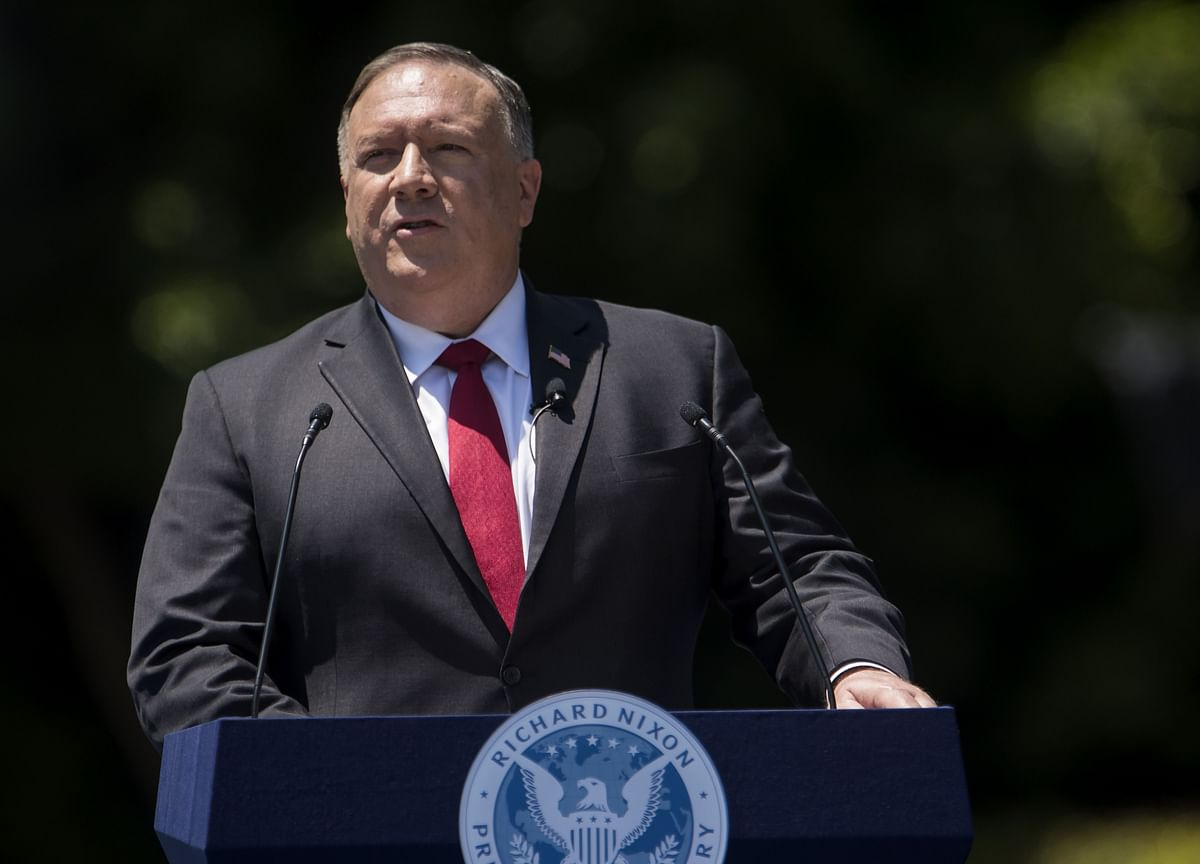 Pompeo Criticizes 'Totalitarian' China as Tensions Spike