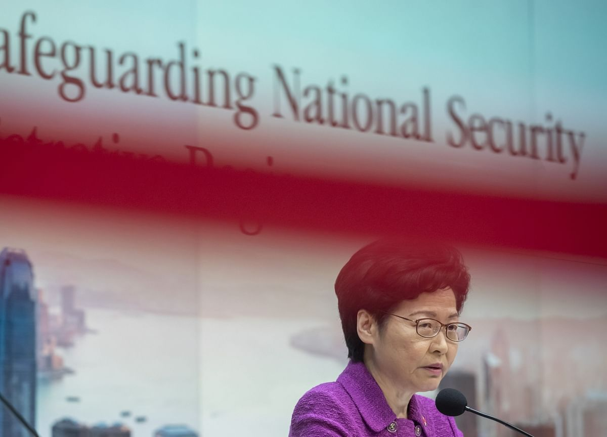 China-Sanctions Bill on Hong Kong Law Passed by U.S. House